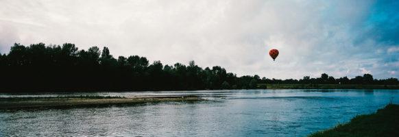 Un ballon sur la Loire