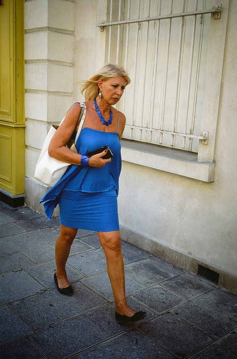 Dress code is blue
