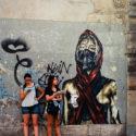 Le street art est dans la place