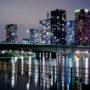 Le pont de Grenelle de nuit