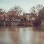 Parc Rives-de-Seine sous les eaux