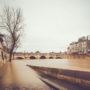 Sous les pavés, la Seine