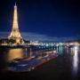 La tour Eiffel et le port Dubilly