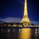 La tour Eiffel vu depuis la passerelle Debilly