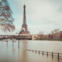 Voie Georges-Pompidou sous les eaux