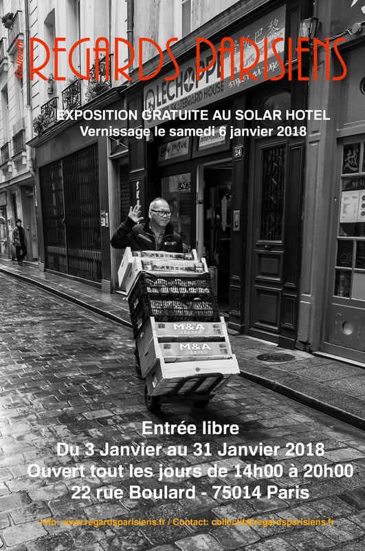 Vernissage de l'exposition - Collectif Regards Parisiens