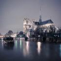 Notre-Dame de Paris presque les pieds dans l'eau