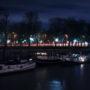 La grande roue et le port des Champs-Élysées,