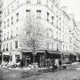 Rue de Buci / Neige