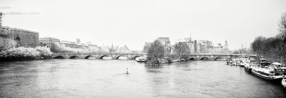 Pont-Neuf en hiver