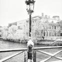 Le lampadaire pris dans le froid