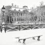 Il a neigé sur le pont des Arts