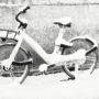 Vélo sous la neige
