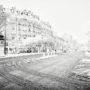 Boulevard de l'Hôpital sous la neige