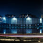Puteaux / Complexe Sportif de l'Ile du Pont / Nuit