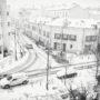Puteaux / De la neige rue Godefroy