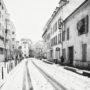 Puteaux / Rue Voltaire / Neige