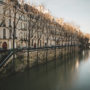 En attendant le printemps, la Seine est en crue