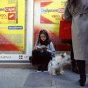 Iris Tarquin et son chien Pilou