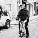 Pierre et son mini-vélo