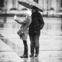 Autoportrait sous la pluie