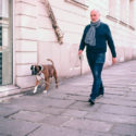 Robert et son chien Pollux