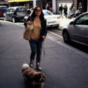 Lana et son chien Robert