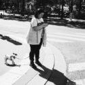 M. Ronin et son chien Baptiste