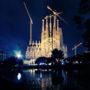 Sagrada Familia by Night / In Colors / Barcelona