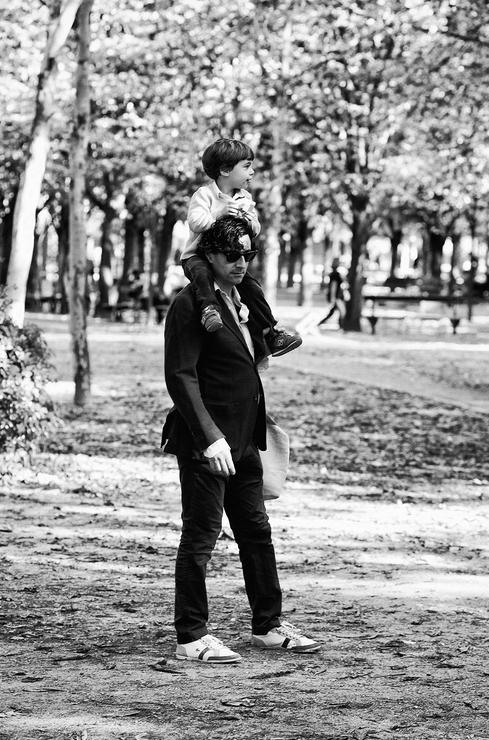 En famille au parc