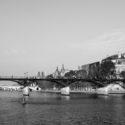 Le pont des Arts en automne