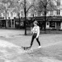 Annabelle et son chien Pollux