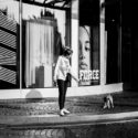 Clara et son chien Matador