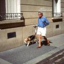 Jean-Philippe Ruffin et son chien Albert