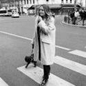 Christelle Ranucci et son chien Pollux