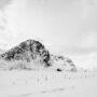 Ice Road / Flakstad / Lofoten / Norvège