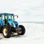 Le tracteur bleu