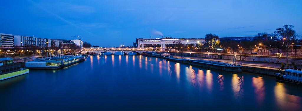 Le pont de Bercy et le ministère des finances