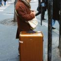 La valise marron