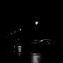 Voitures dans la nuit