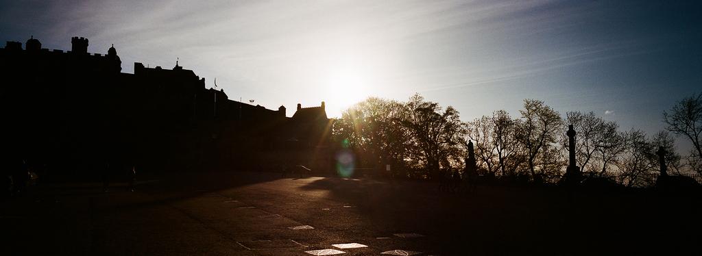 Édimbourg / L'esplanade du chateau