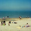 Les gens sur la plage