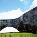 Une oeuvre d'Oscar Niemeyer, l'architecte moderne du Brésil