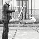 Le peintre et le chevalet