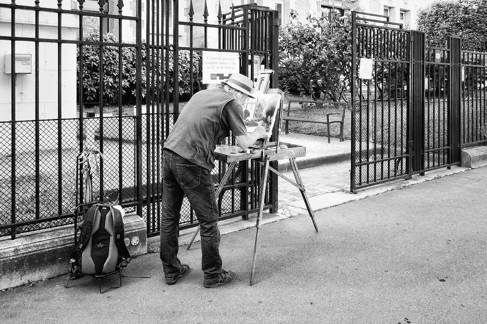 Le peintre du boulevard Saint-Marcel