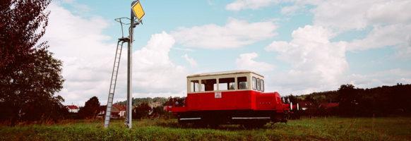 Le train abandonné à la sortie de Saint-Pourçain-sur-Sioule