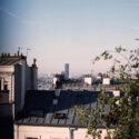 Le tour Montparnasse depuis Montmartre