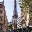 La tour Eiffel sous un autre angle