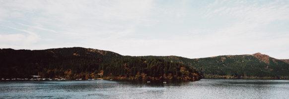 Lac Ashi / Hikone / Japon / Octobre 2019