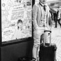 Un dandy dans le métro/ Métro / Tokyo / Japon / Octobre 2019